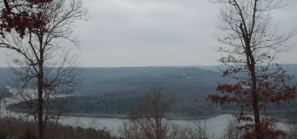A Study in Gray - Table Rock Lake