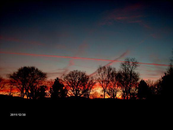 Sunset 12-30-2011
