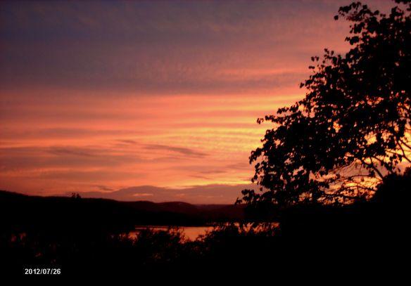 July sunset 2