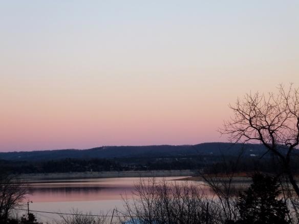 Pink January Evening 2013