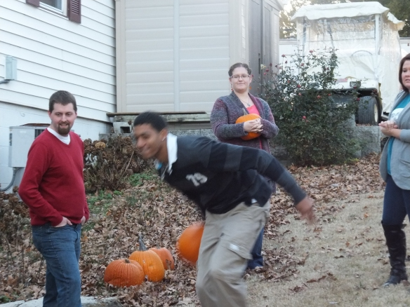 2014 Annual Pumpkin Roll - Great form for a rookie