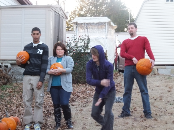 2014 Annual Pumpkin Roll - letting it go
