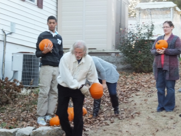 2014 Annual Pumpkin  Roll - perfect form