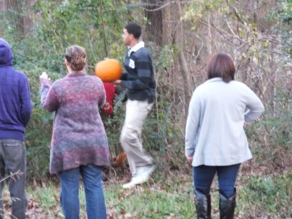 2014 Annual Pumpkin Roll - that ones gonna splash