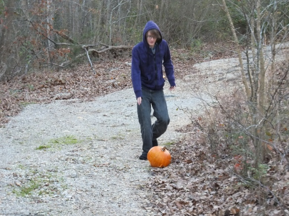 2014 Annual Pumpkin Roll - time for one more roll