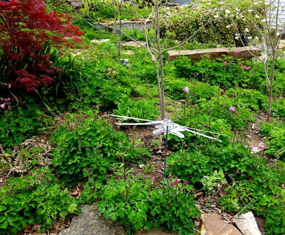 April Garden 2014