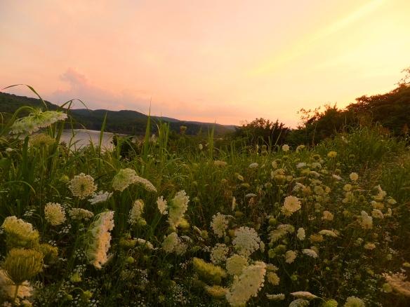 Solstice sunset 2013