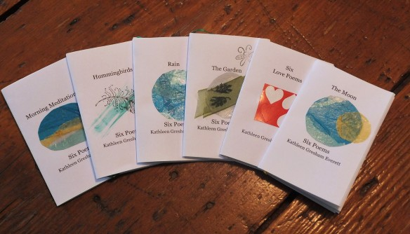 2015 tiny books of poems